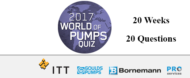 World of Pumps Quiz 2017