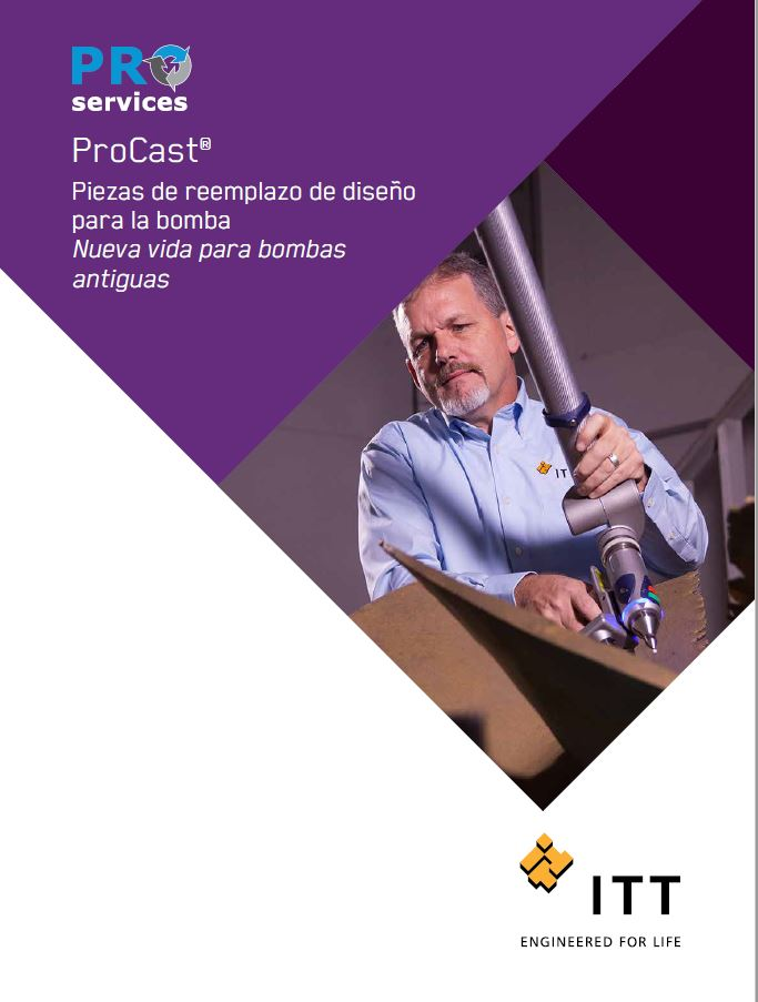 ProCast Engineered Replacement Pump Parts - Spanish